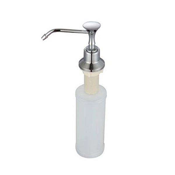 Kitchen Chrome Stainless Steel Liquid Soap Dispenser Kitchen Sink Soap Bottle