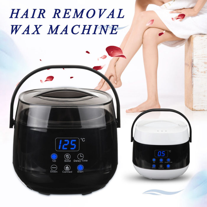 LED Wax Warmer Clean Painless Hair Removal Waxing Kit Depilatory Electric Wax Heater