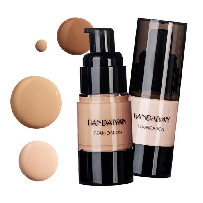 Lasting Liquid Foundation Waterproof Concealer Brighten Face BB Cream Contour Face Highlighter