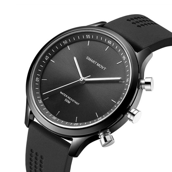 Luminous Quartz Smart Watch Onekey SOS Fitness Trainer Camera Message Remind Smart Watch