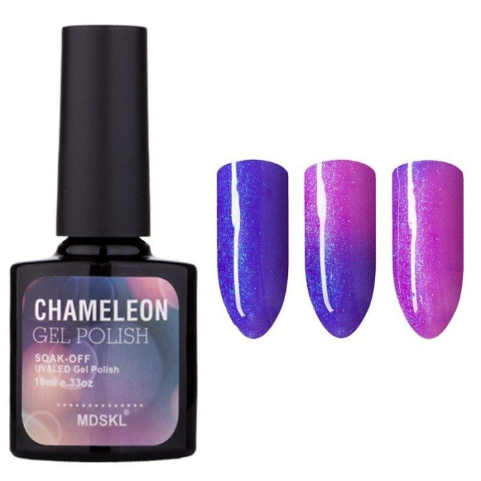 Magical Temperature Change Nail Gel Polish Tasteless Long Lasting Nail Polish Nail Glue