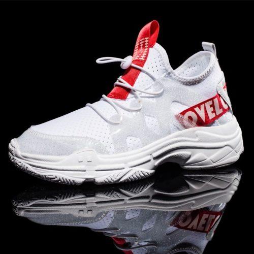 Men Mesh Breathebale Light Weight Sport Running Sneakers