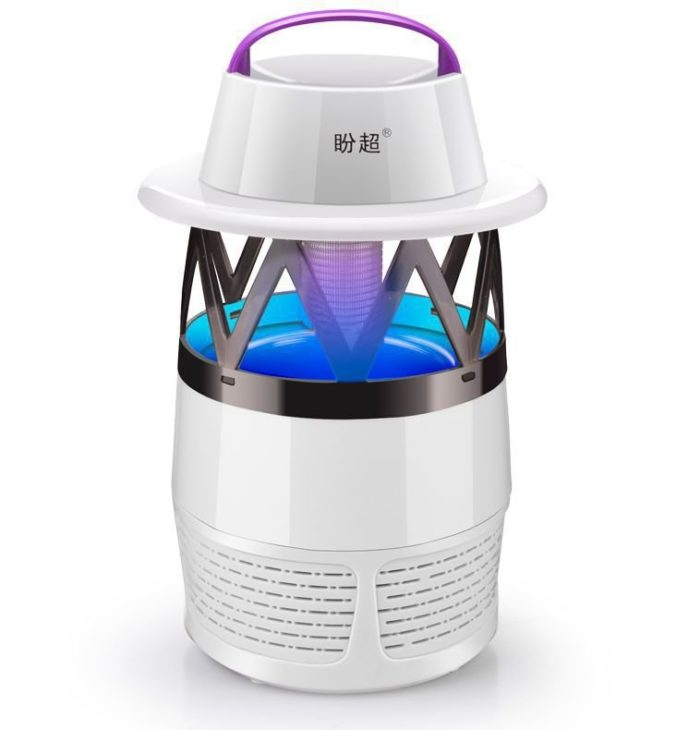 Mosquito Killer Lamp LED Photocatalyst Mute Fan Night Light Insect Repellent Travel Camp