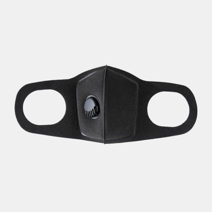 PM2.5 Sponge Face Mask Dust-proof Haze Breathing Valve Mask 3D Ear Hanging Windproof Mask