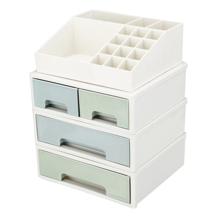 Plastic Drawer Storage Cabinet Desktop Debris Storage Box