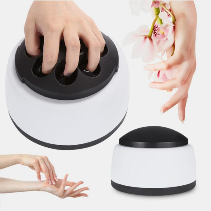 Portable Electric Steam Nail Polish Remover Quickly Professional Removal Nail Art UV Gel Machine