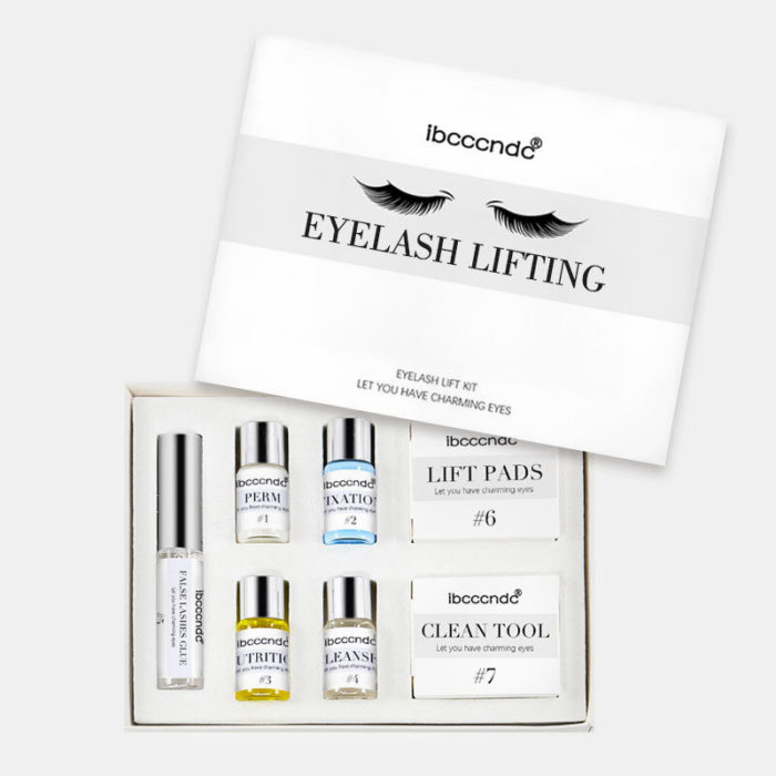 Profession 7 In 1 Eyelash Perming Lift Kit Eyelash Wave eyelashes Curling Perm Curler Kit Eye Lashes Extension Lifting S
