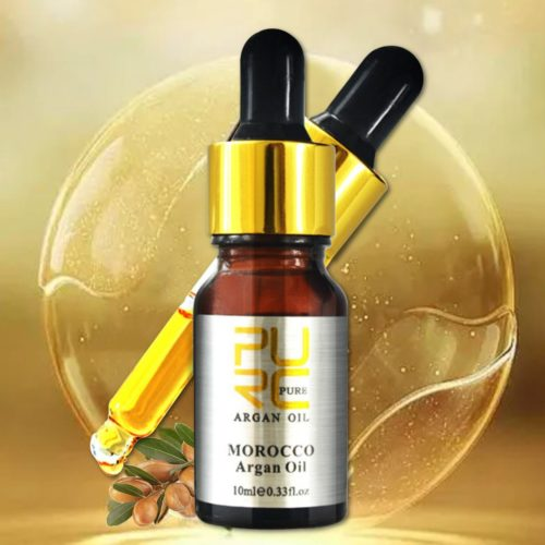 Pure Moroccan Argan Oil For Hair Scalp Treatment 10ml Face Body Hair Care Essence Oil