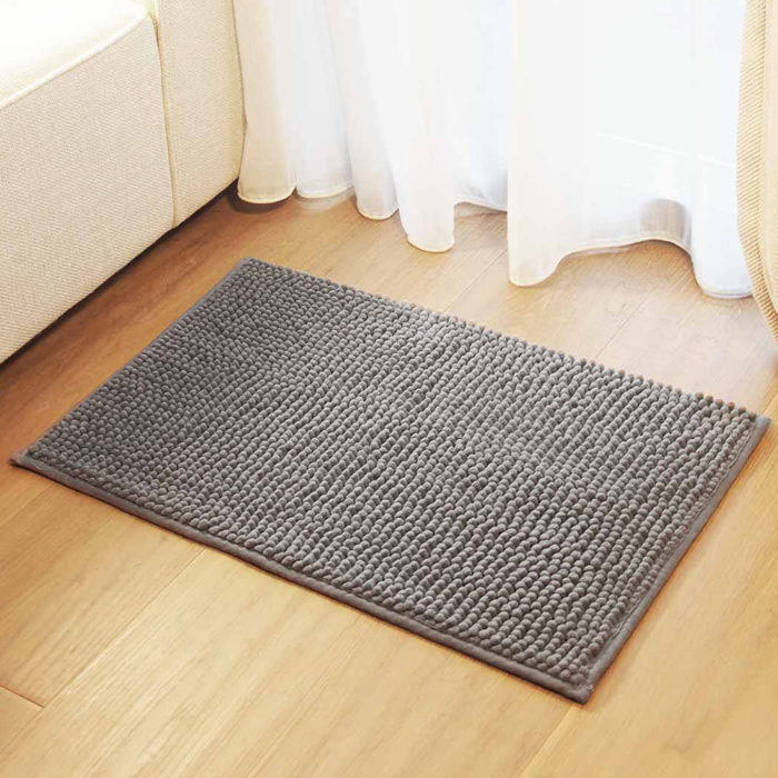 Qualitell Non-slip Footcloth Carpet Rug Doormat Floor Mat Soft Chenille From Xiaomi Youpin
