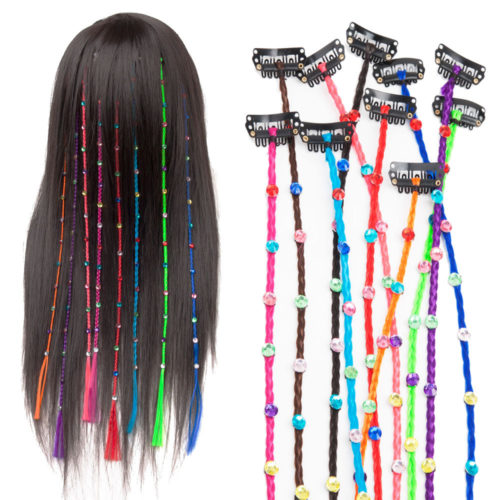 Seamless Hair Extension Piece Straight Hair Braid Hairpin Hair Styling Accessories Head Jewelry