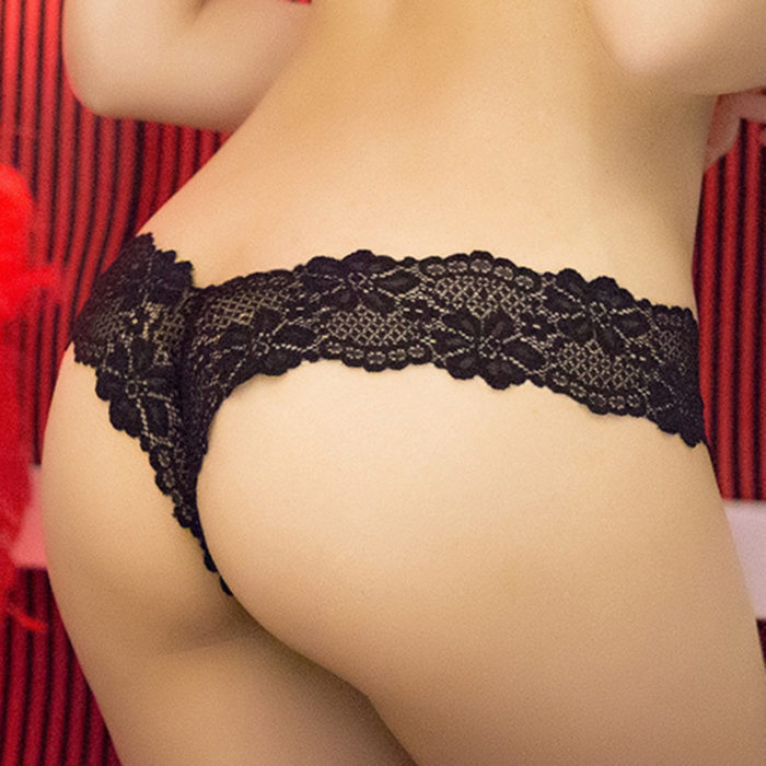 Sexy Lingerie Bottom Lace See Through Low Waist Hot Panties