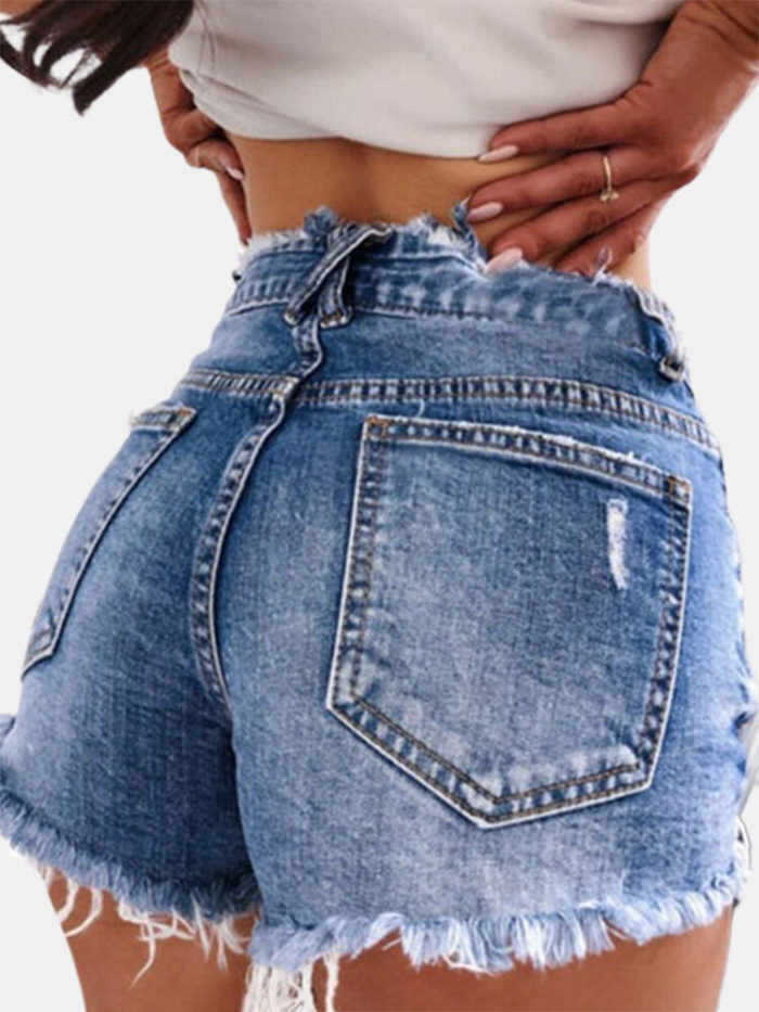 Sexy Tight Ripped Jeans For Women