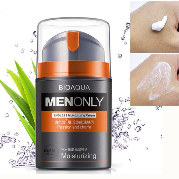 Skin Care Men Deep Moisturizing Oil-Control Face Cream Hydrating Anti-Aging Anti Wrinkle Cream 50g