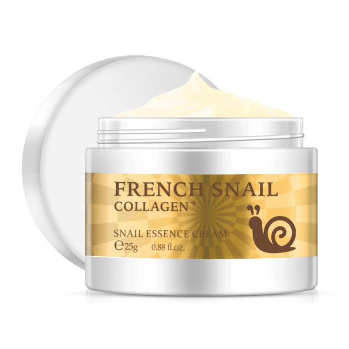 Snail Face Cream Hyaluronic Acid Moisturizing Anti Wrinkle Aging Nourishing Collagen Serum Cream