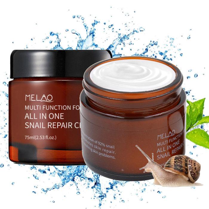 Snail Moisturizing Face Care Facial Cream Whitening Anti-Aging Anti Wrinkle Fade Fine Line Face Care
