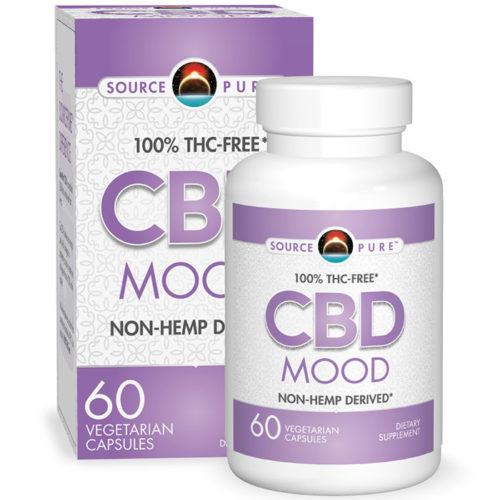 SourcePure CBD Mood, 60 Vegetarian Capsules, Source Naturals