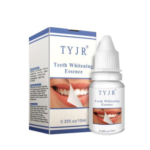 Teeth Whitening Liquid Remove Plaque Stain Yellow Smoke Tooth Bleaching Oral Hygiene Cleaning 10ml