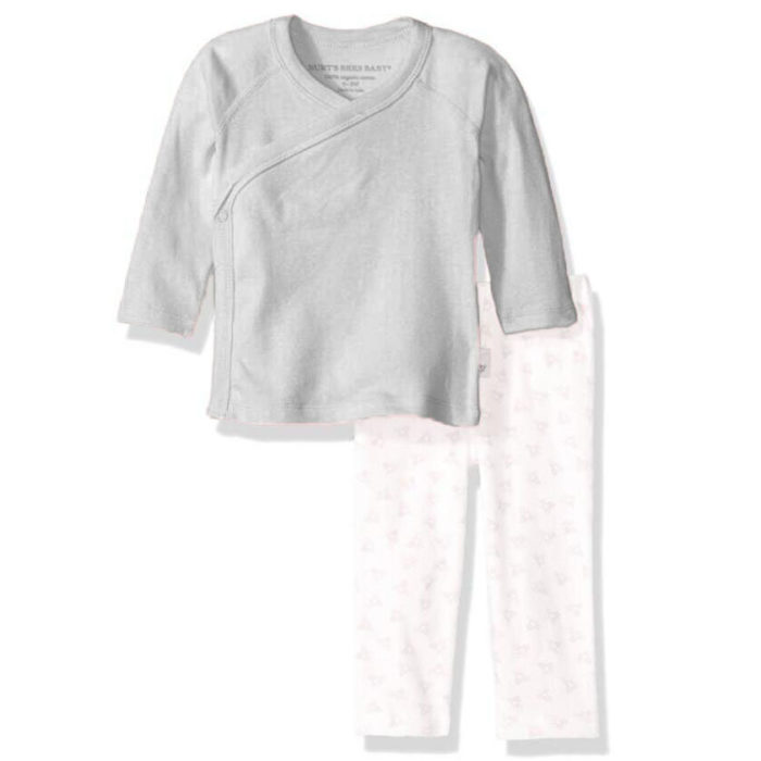 Unisex Baby 2 PCs Sleepsuit Tops+Footed Pants Pajamas Outfit Set For 3-18M