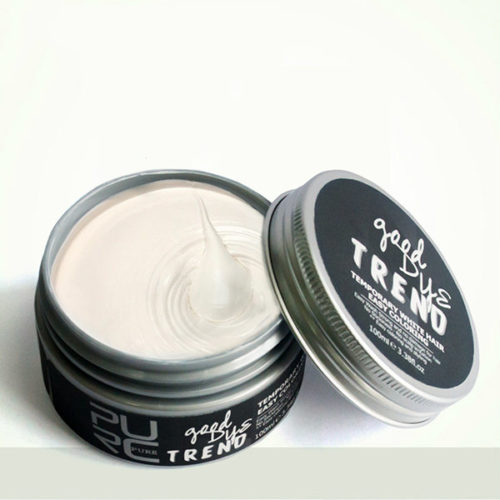 Unisex Hair Dyes Hair Color Wax Mud Disposable Molding Styling Coloring Paste Hair Care