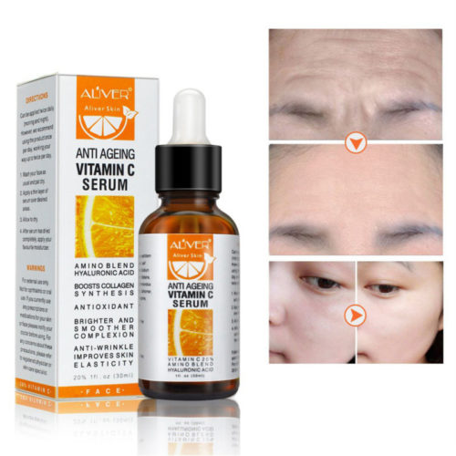 Vitamin C Whitening Essence Deep MoisturizingAcne Anti-Aging Essence Brighten Skin Tone Face Care