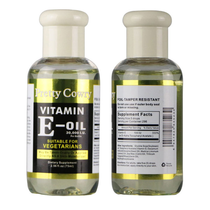 Vitamin E Essential Oil Moisturizing Soothing Facial Serum Oil Repair Face Brighten Skin Tone Oil