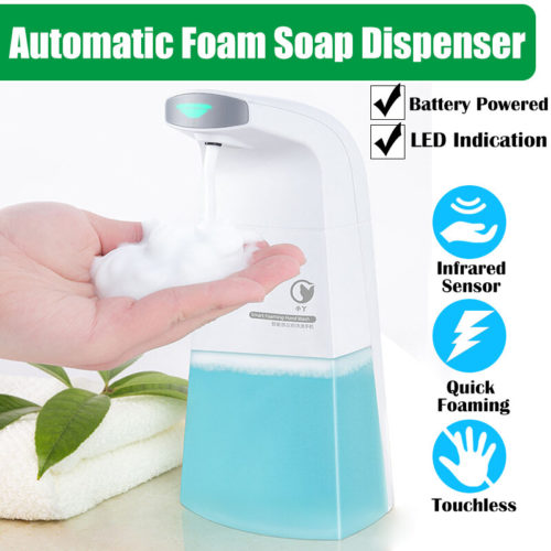 X1 Full-automatic Inducting Foaming Soap Dispenser Intelligent Infrared Sensor Touchless Liquid Foam