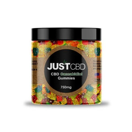 CBD Gummies 750mg- clear bears