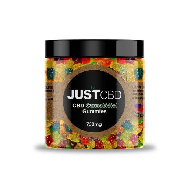 CBD Gummies 750mg- clear worms