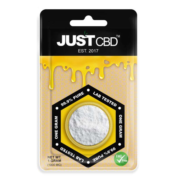 CBD Isolate Powder 99.99% Pure 1g