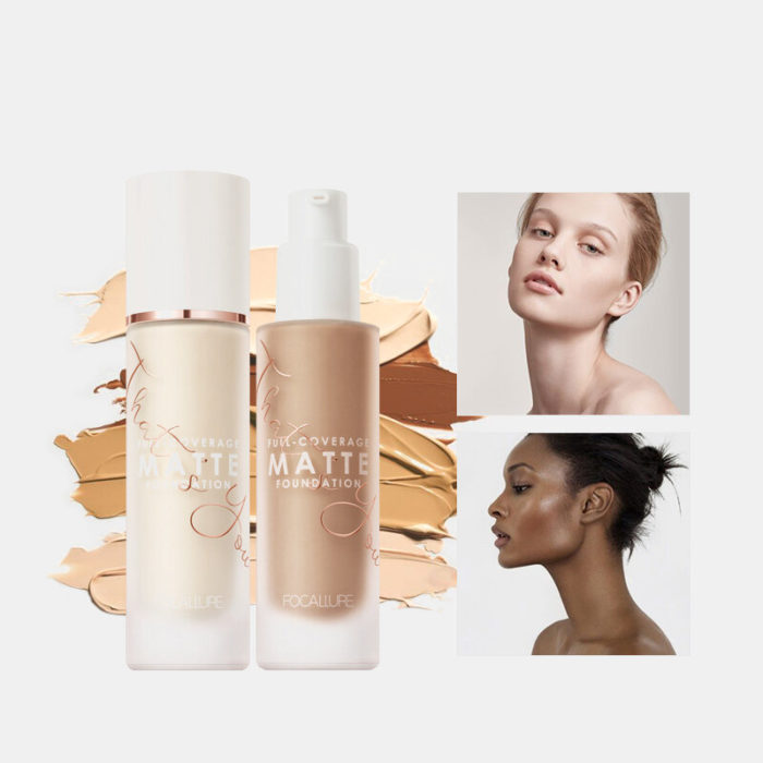 20 Colors Full Coverage Matte Liquid Foundation Natural Long Lasting Waterproof Oil Control Concealer Foundation