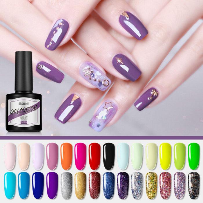 39 Colors 8ml Phototherapy Nail Polish Gel Removable Matte UV Semi Permanent Gel