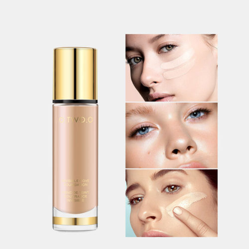 8 Colors Liquid Foundation Full Coverage Concealer Whitening Moisturizer Waterproof Face Makeup