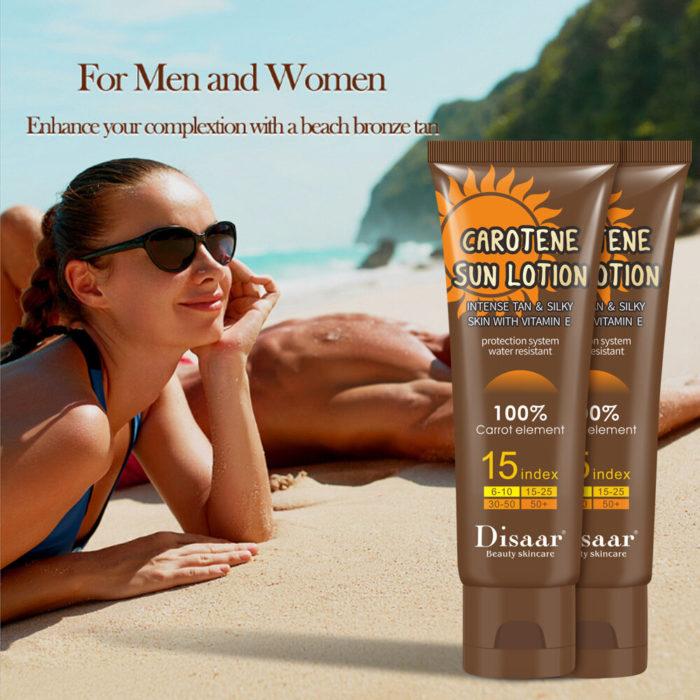 Tanning Cream Tanning Moisturizing Body Lotion Skin Body Milk Lotion Skin Protective