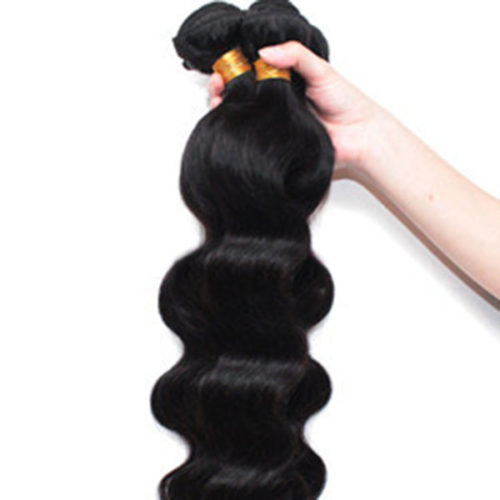1 Bundle Brazilian Body Wave 100% Virgin Human Hair Extensions Weave Natural Color
