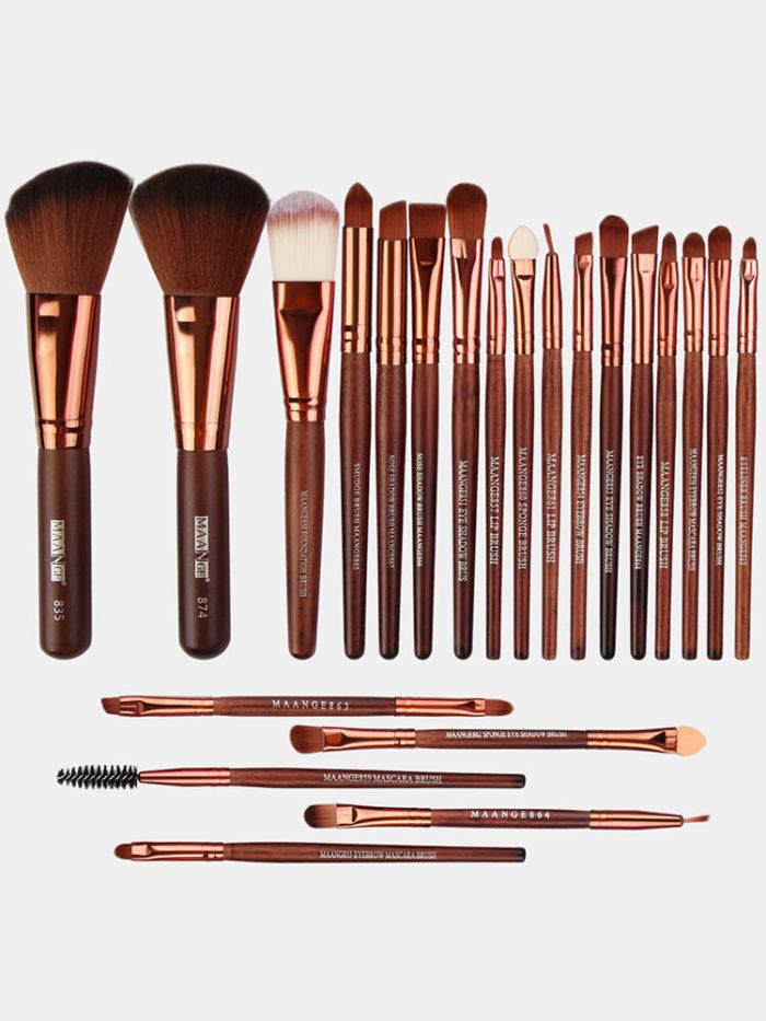 22 Pcs Makeup Brushes Set Eye Shadow Foundation Blush Blending Beauty Makeup Brush Tool