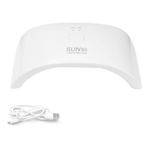 36W USB Nail UV Led Lamp Intelligent Sensor Nail Dryer Curing All Types Nail Gel Polish Manicure Too