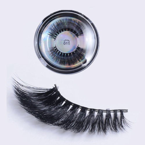 3D False Eyelashes Multi-layer Cross Natural Long Eye Lashes Handmade Makeup Thick Eyelash