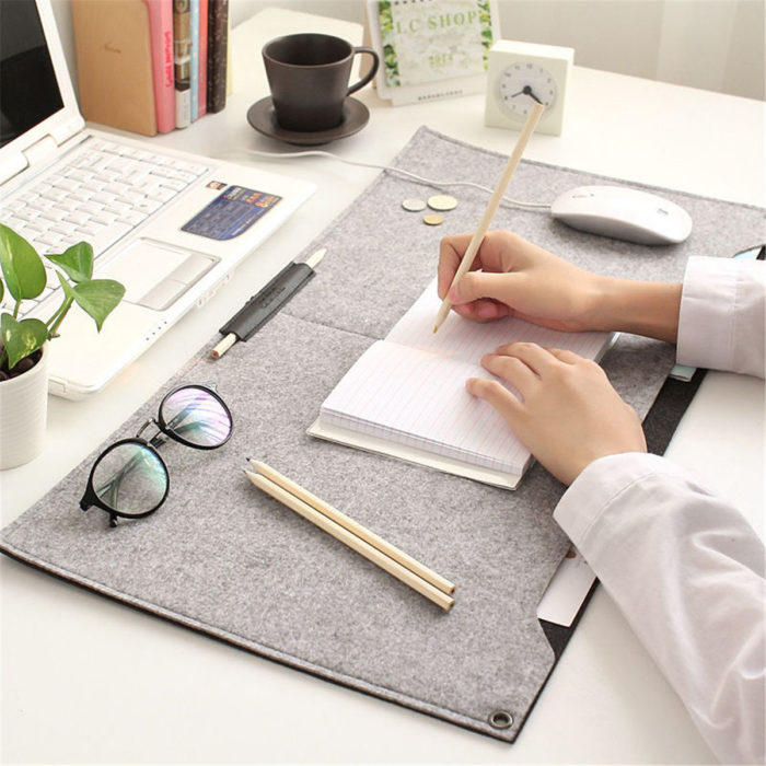63*33cm Computer Desk Table Pad Large Keyboard Mouse Mat Wrist Protect Stationery Supplies