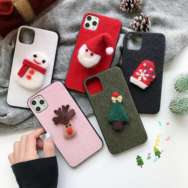 Christmas Three-dimensional Phone Case For Apple All Inclusive