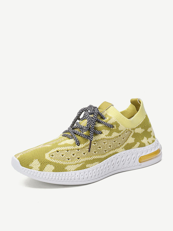 Women Flying Weave Breathable Comfy Runnning Casual Sneakers