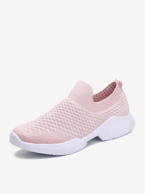 Women Mesh Comfortable Non Slip Sock Mouth Sneakers