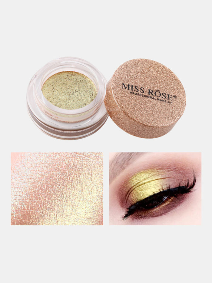 12 Colors Mermaid Colorful Eyeshadow Portable Waterproof Non Fade Glitter Eye Makeup