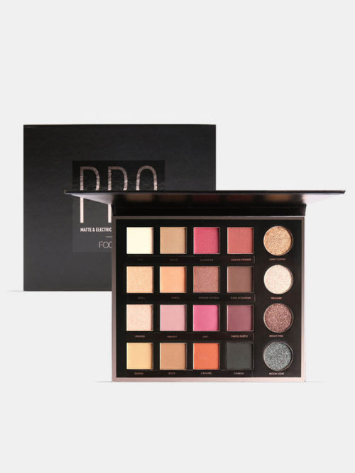 20 Colors Matte Shimmer Earth Color Eyeshadow Palette Nude Glitter Eye Makeup