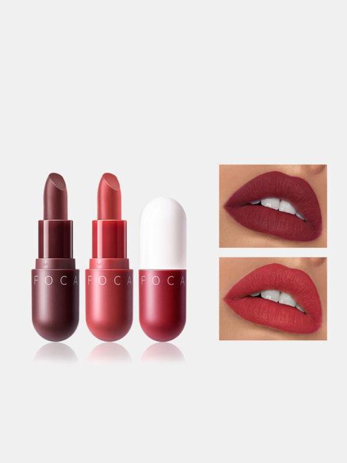 8 Colors Matte Lipstick Long-lasting Moisturizing Non-Fade Lip Makeup