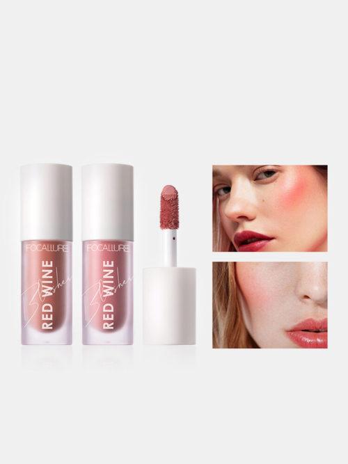 Face Liquid Blusher Contour Makeup Matte Long-lasting Brightening Rouge Blush