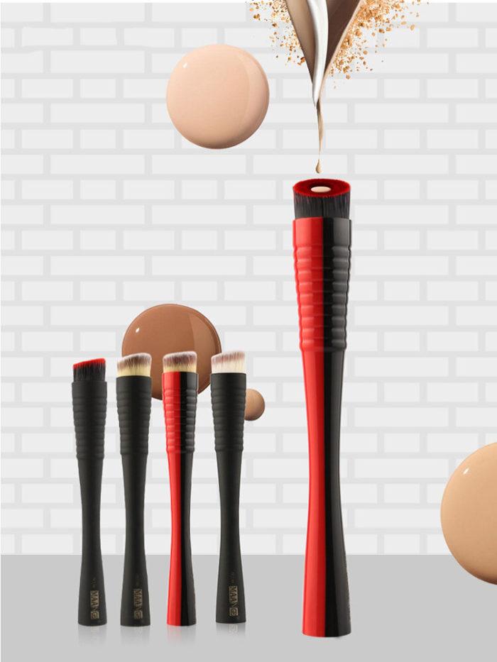 1 Pc Foundation Makeup Brushes Small Waistband Foundation Powder Blush Soft Brush Makeup Tool