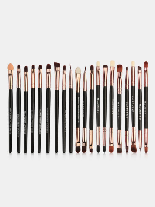 30 Pcs Makeup Brushes Set Foundation Powder Eye Shadow Contour Blush Face Makeup Tool Kit