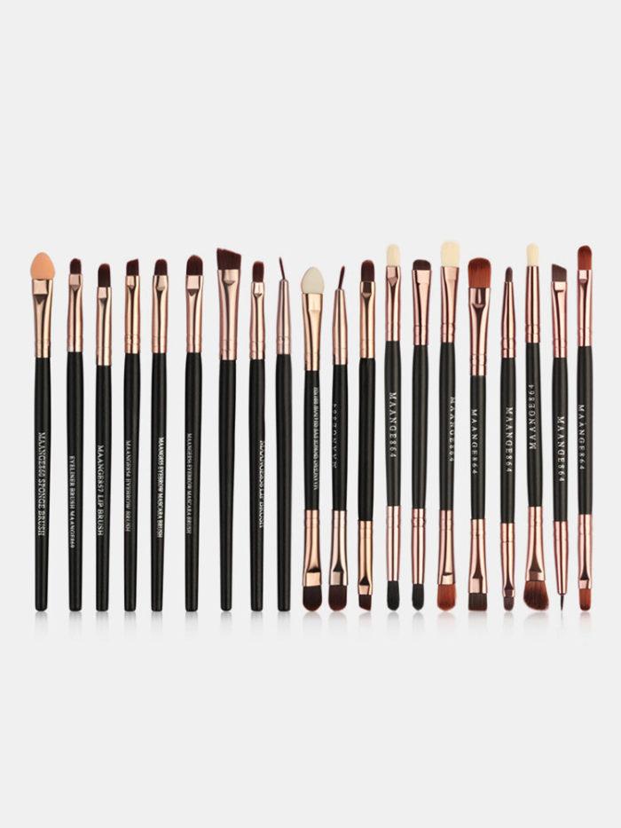 30 Pcs Makeup Brushes Set Foundation Powder Eye Shadow Contour Blush Face Makeup Tool Kit