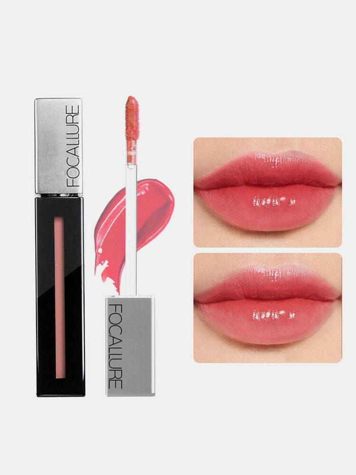 8 Colors Moisturizing Lip Gloss Glossy Waterproof Non-Stick Cup Lipstick Lips Makeup