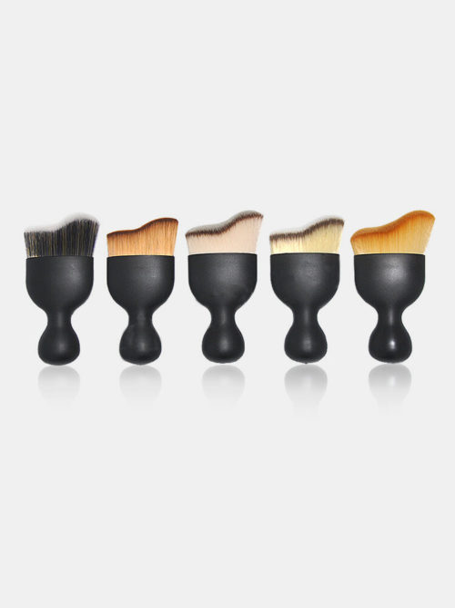 Wave-Shaped Foundation Contour Makeup Brush U-Shaped Makeup Tool